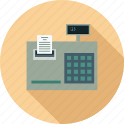 cash management, epos, pos, sale machine icon