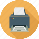computer printer, device, hardware, print, printer icon