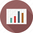 bar graph, bar graph chart, graph chart, sheet icon