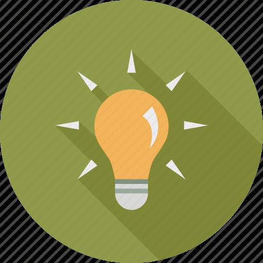 brainstorm, bulb, idea, innovation, think icon