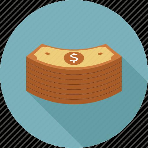 cash, dollars, money icon