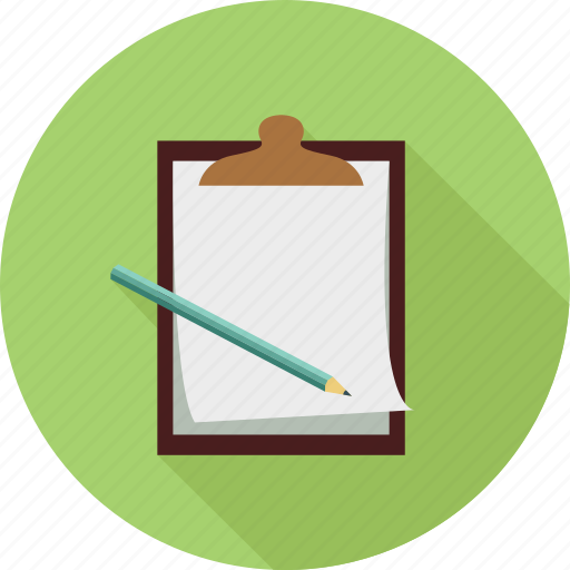 clipboard, notes, pages icon