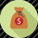 dollars bag, money bag, moneybag