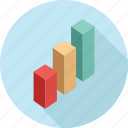 analytics, bar graph, chart, graph, report, statistics icon