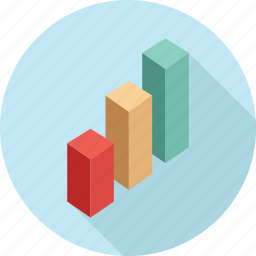 analytics, bar graph, chart, graph, report, statistics icon