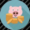 coins, money, cash, saving