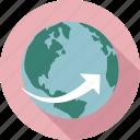 globe, world globe, global, global trend