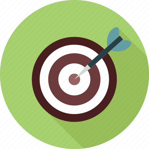 Focused, target, targetting, goal icon - Download on Iconfinder