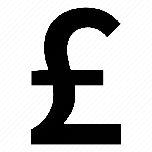 currency, financial, money, pound, price icon