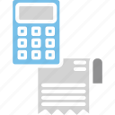 business invoice, payment invoice, service invoice, professional invoice, billing icon