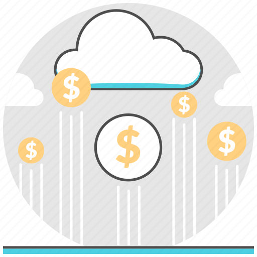 cloud, crowdfunding, financial, find, management, money icon