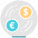 currency, exchange, financial, management, money, transfer icon