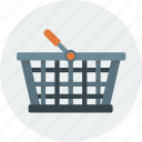 bag, basket, shopping icon