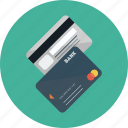 bank, credit cards, money, payment icon