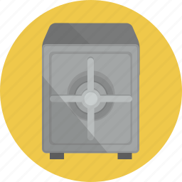 bank, safe, secured icon
