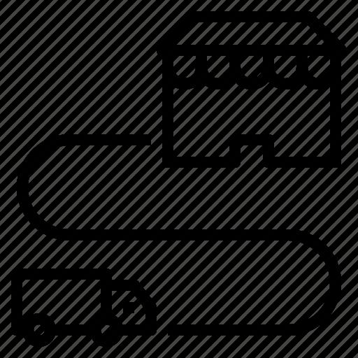 car, commerce, finance, market, trading icon