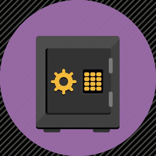 deposit, finance, safe, secure icon