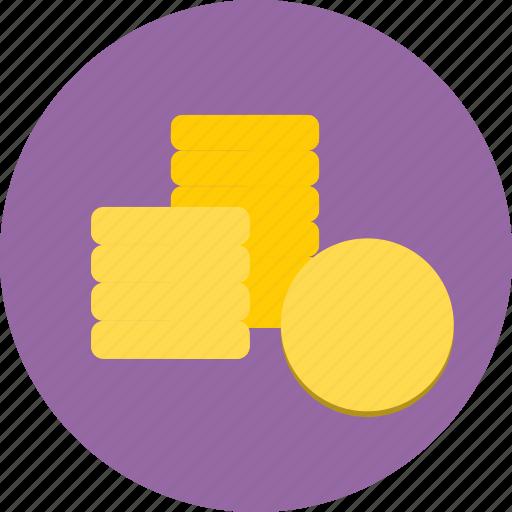 cash, coins, finance, money icon