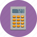 calculate, calculator, digital, finance, numbers icon