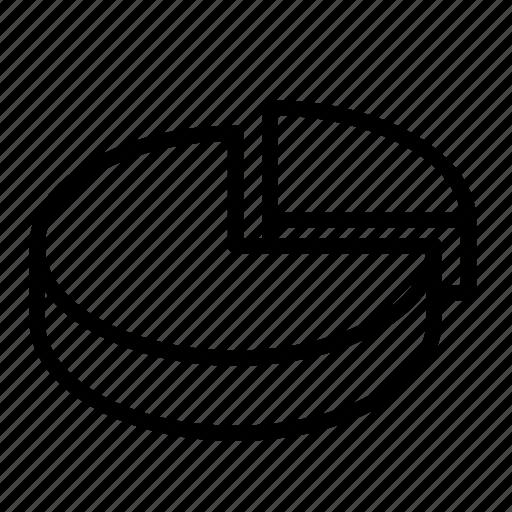 analysis, bar, chart, diagram, finance, pie icon