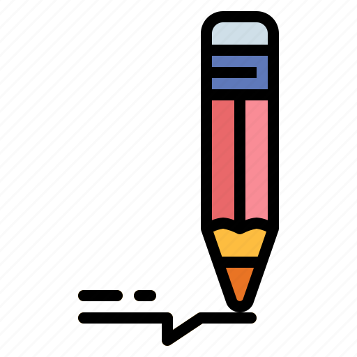 draw, drawing, pencil, writing icon