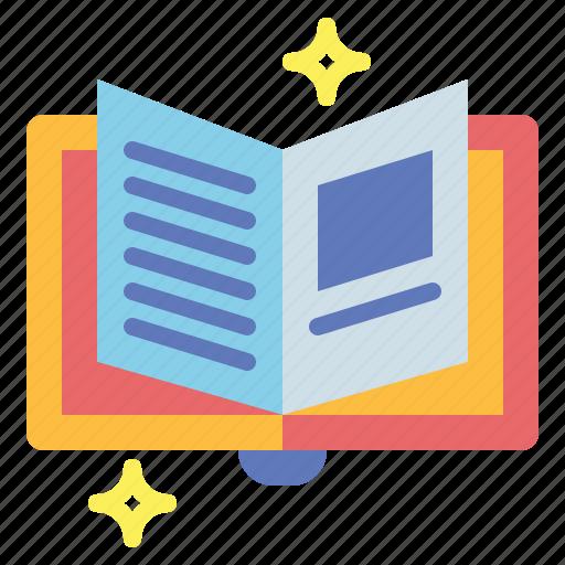 books, education, literature, reading icon