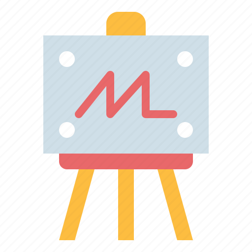 art, draw, easel, paint icon