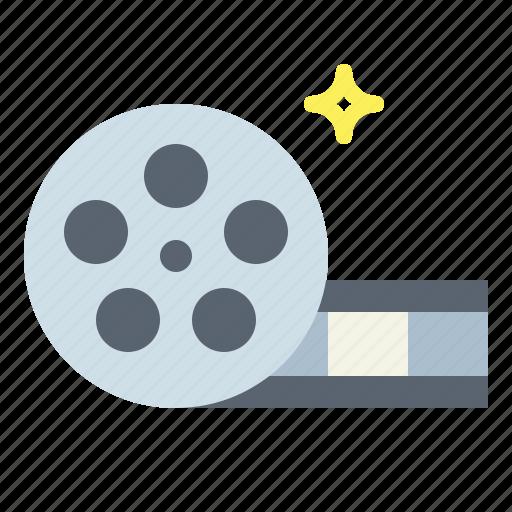film, movie, player, reel, video icon
