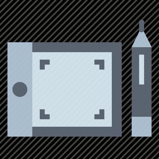 design, graphic, tablet, tool, wacom icon
