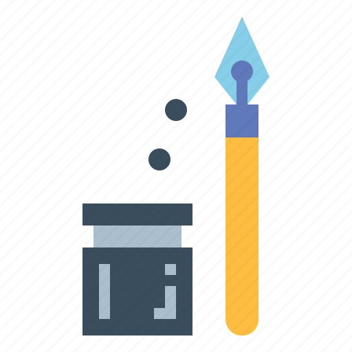 Ink, pen, writing icon - Download on Iconfinder