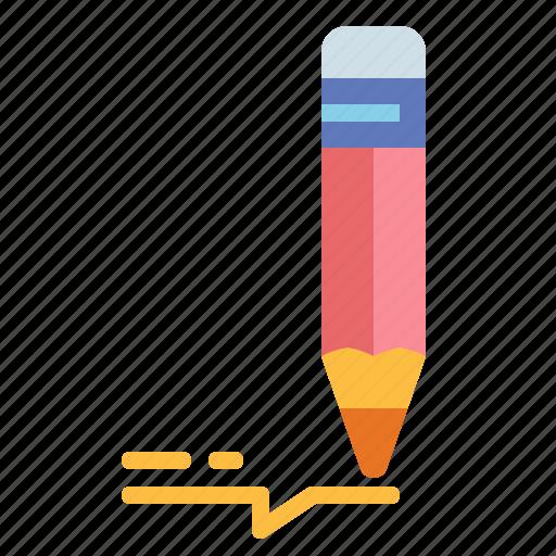 draw, drawing, pencil, writing icon