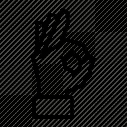 Finger, Good, Hand, Okey Icon-9394