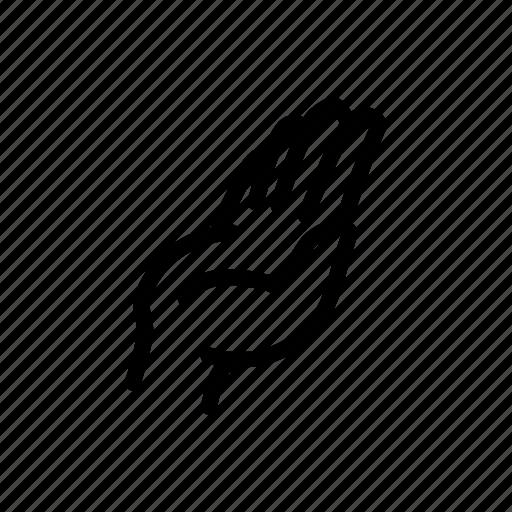 finger, hand, preserve icon