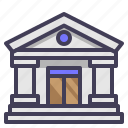 bank, building, finance, funding, government, loan, money icon