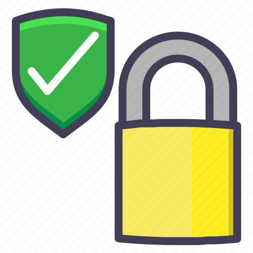 lock, locked, protected, safe, safety icon