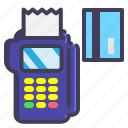 cart, credit, debt, machine, payment icon