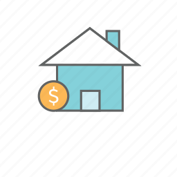 equity, home, investment, loan, mortgage, property, real state icon