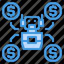 artificial, finance, fintech, intelligence, money, technology