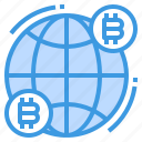 bitcoins, finance, fintech, money, technology, world