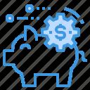 bank, finance, fintech, money, piggy, technology
