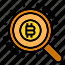 bitcoins, finance, fintech, money, technology icon