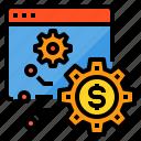 browser, finance, fintech, money, setting, technology