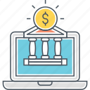 banking, internet, internet banking, online banking icon