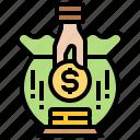 finance, fund, money, raise, saving icon
