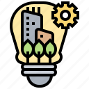 center, financial, innovation, knowledge, learning icon