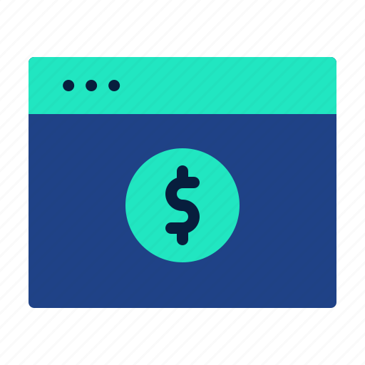 banking, financial, fintech, online, payment, solutions, technology icon
