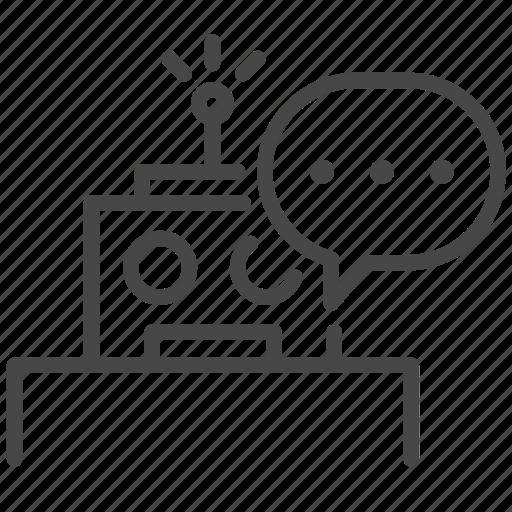 advisor, finance, fintech, robo, robot, robotics, technology icon