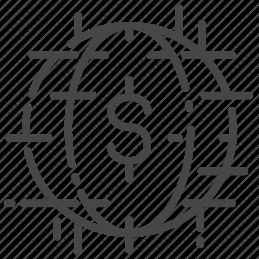 cashless society, finance, fintech, money, technology icon
