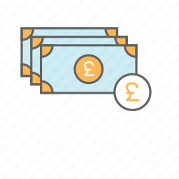 bank note, british, currency, money, pound, pound note icon