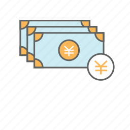 cash, currency, finance, japanese, money, yen, yuan icon